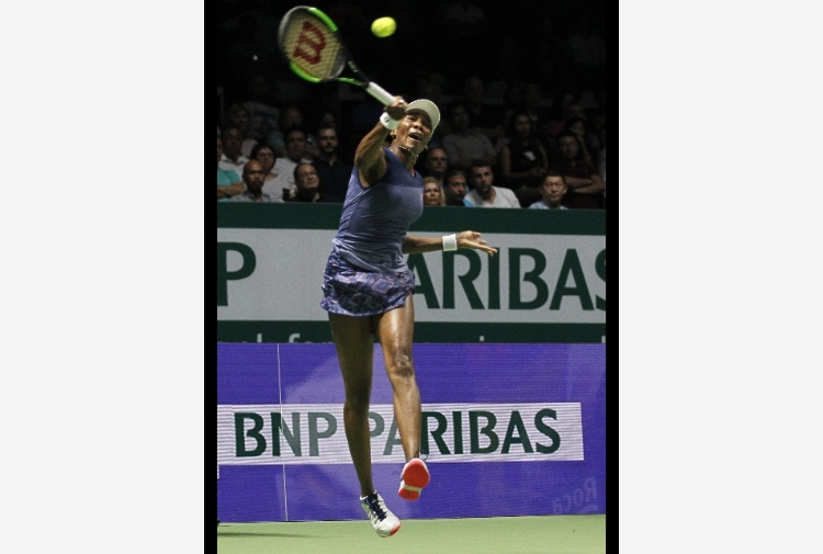 Tennis: Wta Finals, Venus Williams in semifinale