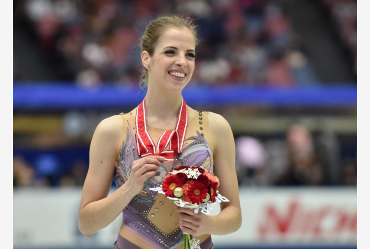 Super Carolina Kostner a Osaka: è seconda