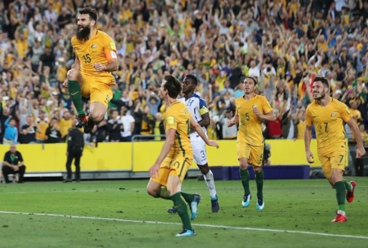 Australia-Honduras 3-1: tris Jedinak! I Canguri ai Mondiali! 19 15-11