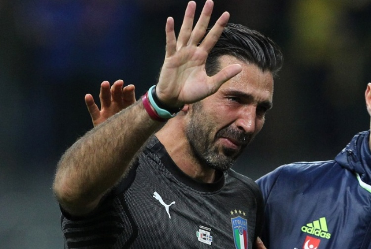 Marassi, applausi a Buffon
