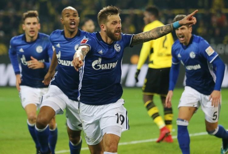 Bundesliga, incredibile Schalke 04: da 4-0 a 4-4 contro il Borussia Dortmund