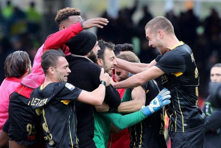 BENEVENTO MILAN: 2-2 - Il portiere Brignoli regala il primo punto alle streghe