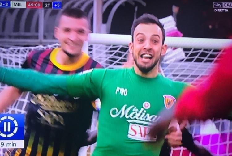 Un gol che entra dritto nella storia — Brignoli come Superman