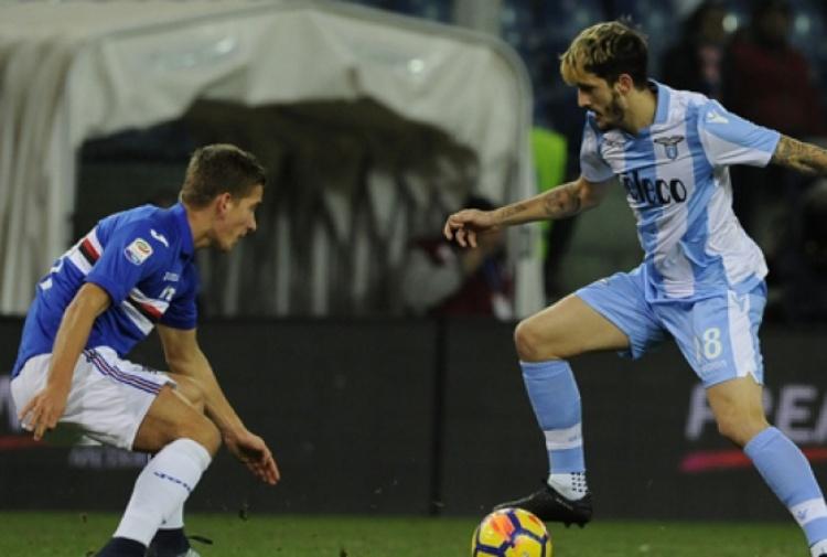 Il posticipo della 15esima giornata di serie A, Sampdoria-Lazio