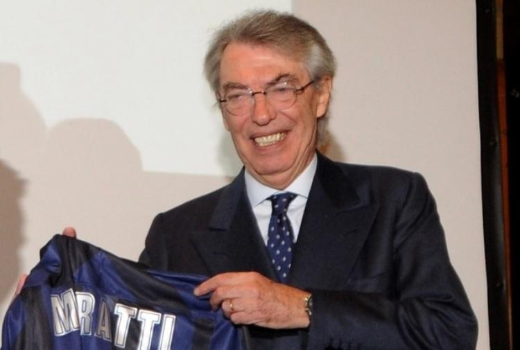 Moratti incorona l'Inter: