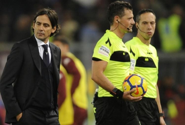 Lazio, Inzaghi: 'Defraudati per la quarta giornata di fila. Infastidisce...'