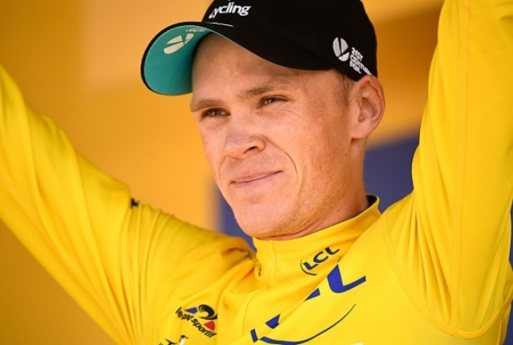 Choc nel ciclismo, Chris Froome positivo