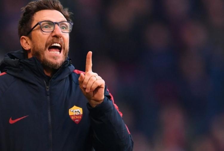 Roma-Cagliari, Di Francesco non pensa alla Juve: