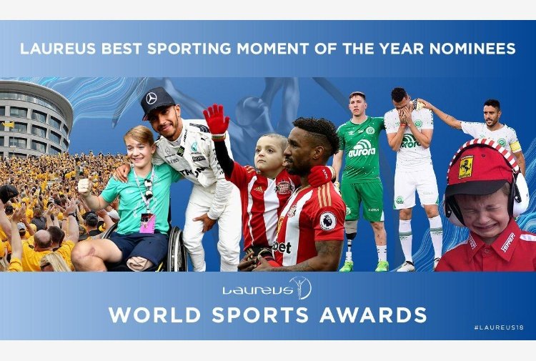 Laureus Sports Awards, definiti i cinque 'momenti sportivi' dell'anno