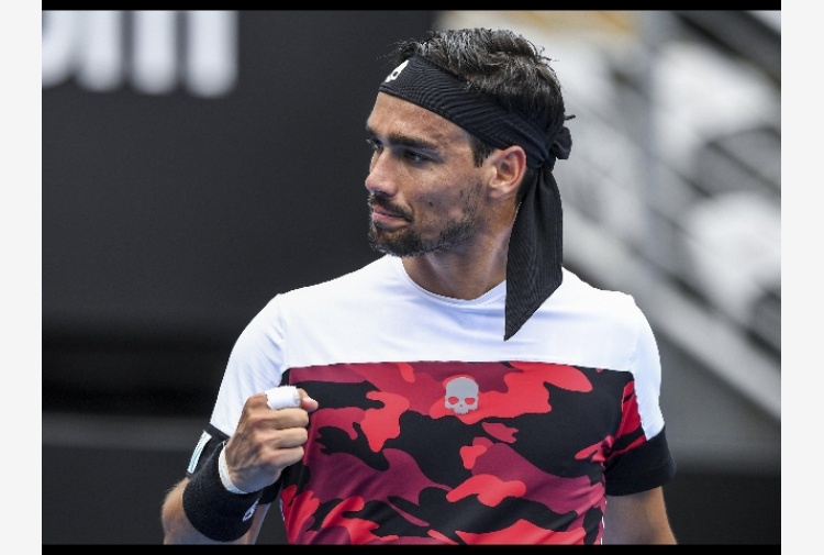 Tennis: Fognini in semifinale a Sydney