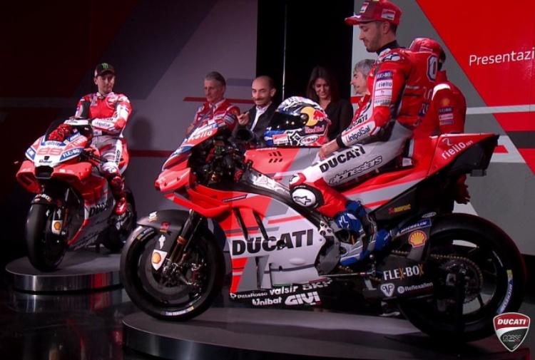Ecco la Ducati, Lorenzo: