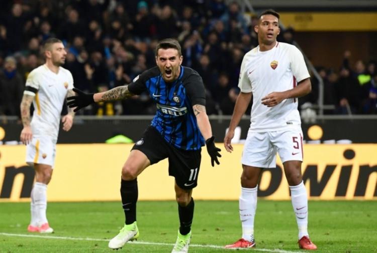 El Shaarawy colpisce, Vecino risponde: Inter-Roma 1-1