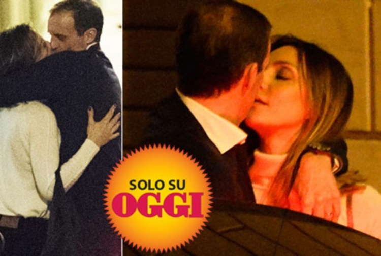 Ambra e Max Allegri colti in flagrante