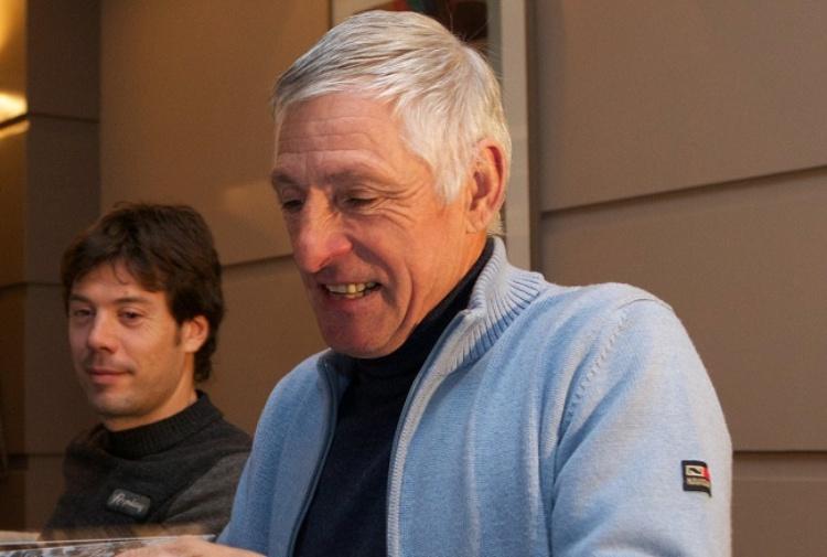 Francesco Moser dal pedale al 'Grande Fratello'