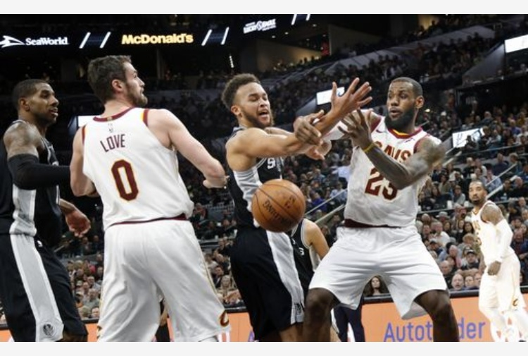 LeBron James trascina Cleveland