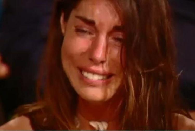 L'Isola dei Famosi: Bianca Atzei piange per Max Biaggi