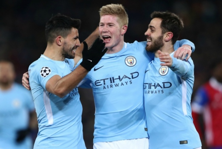 Manchester City, tutto facile a Basilea: 0-4