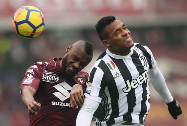 Juventus, la carica di Alex Sandro: