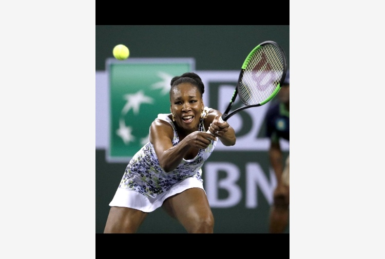 Tennis: Indian Wells, Venus vince il 29mo derby Williams