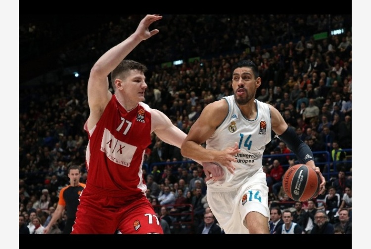 Eurolega: AX Milano-Real Madrid 77-88