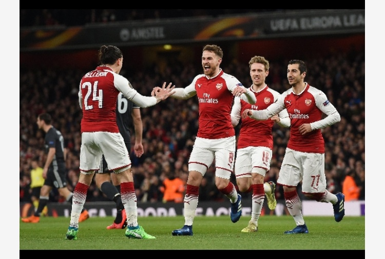 Europa League: bene Arsenal e Atletico