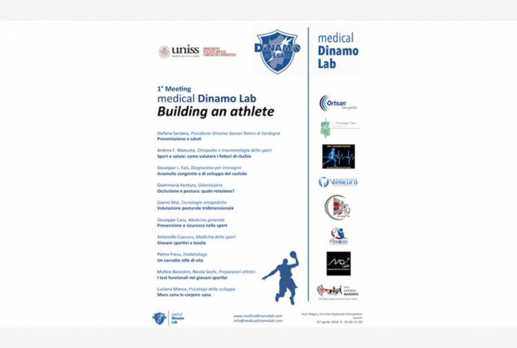 'Building an athlete': domani il meeting Medical Dinamo Lab per atleti e genitori