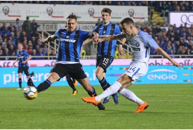 L'Inter rallenta ancora nella sua corsa verso la Champions. Pari con l'Atalanta