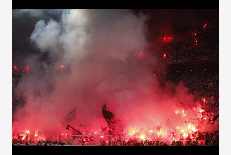 Europa League, incidenti tifosi francesi