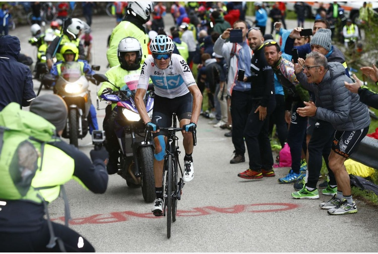 Froome vince sullo Zoncolan
