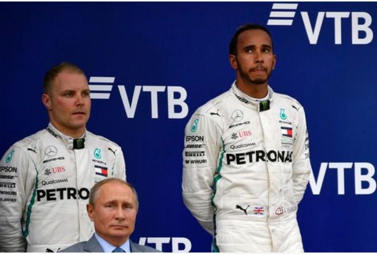 Gp Russia, Hamilton primo nelle terze libere davanti a Bottas e Vettel