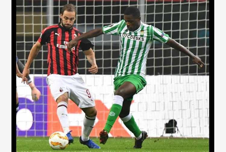 Europa League: Milan-Betis 1-2