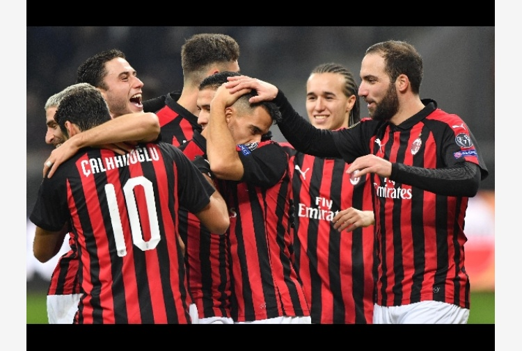 Europa League: Milan-Dudelange 5-2