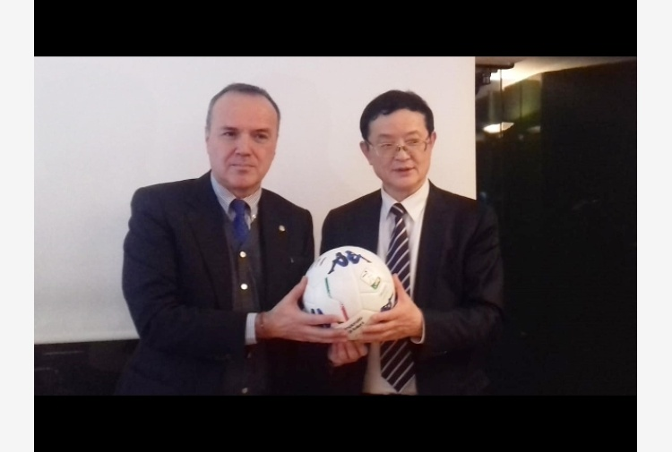 Delegazione Chinese League da Balata