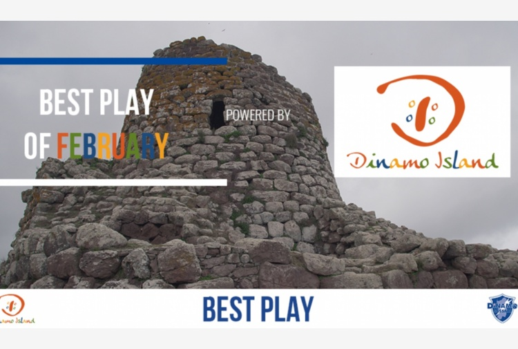 Vota la Dinamo Island best play of February
