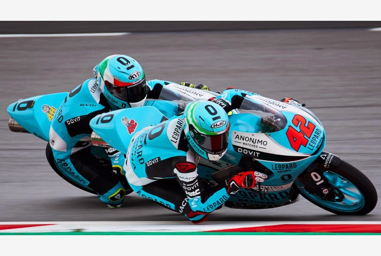 Moto3, Germania, Ramirez vola in libere