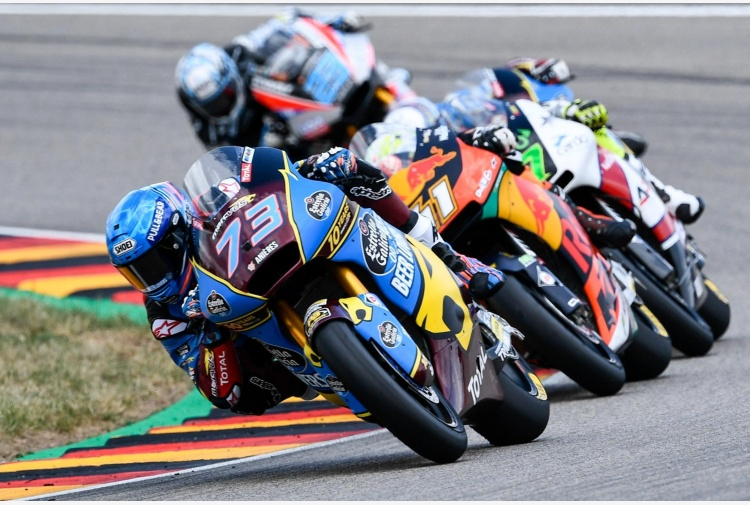 Moto2, A. Marquez vince gp Germania