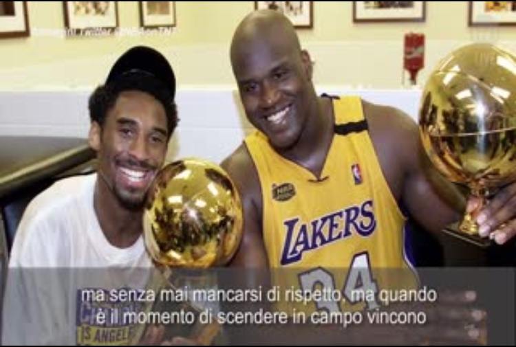 Kobe, Shaquille O'Neal in lacrime: 'Ho perso un fratello