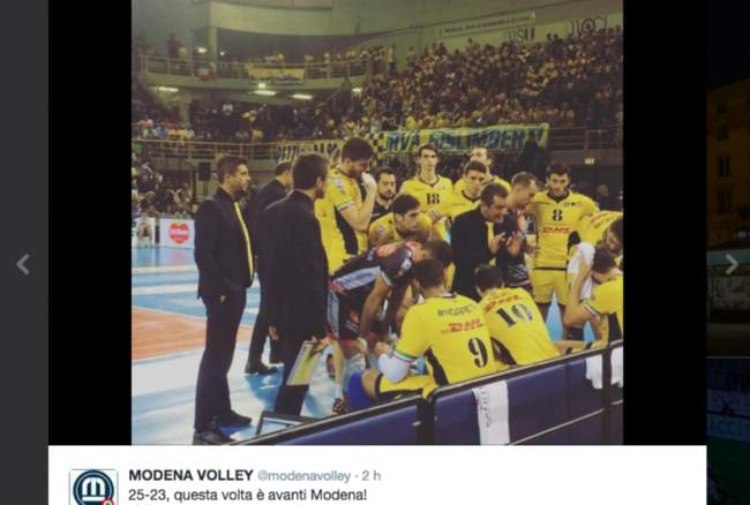 Volley, Supercoppa a Modena