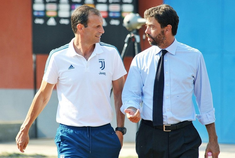 Si dividono le strade di Allegri e della Juventus