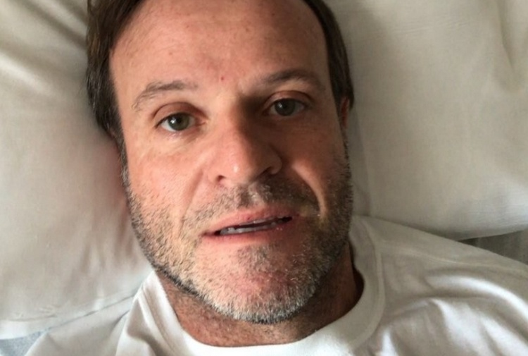 Tanta paura per Barrichello: un malore e poi l'operazione al cervello