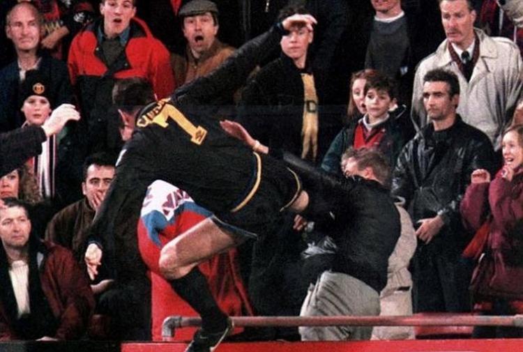 Cantona E Il Calcio In Stile Kung Fu Non Mi Pento Fu Una Bella Sensazione Tiscali Sport